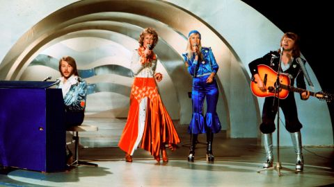 """Swedish supergroup ABBA threatened to sue when they discovered 1976 hit """"Mamma Mia"""" was being used as a rally song in Denmark by the far-right Danish People's Party."""