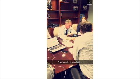 Former Maryland Governor Martin O' Malley uses Snapchat to tease likely presidential announcement