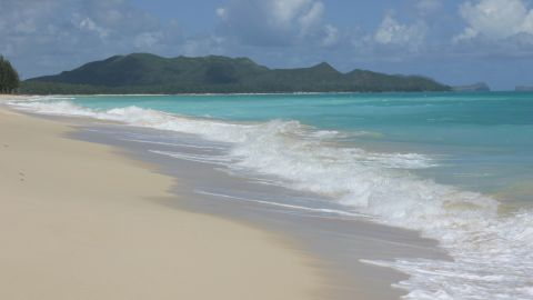 Waimanalo Beach6- Credit Oahu Visitors Bureau Licensor Bianca Photography