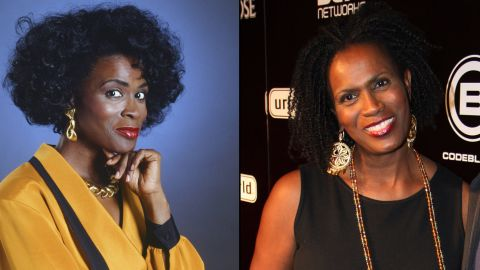 """Janet Hubert starred as the original Aunt Vivian, the Banks family matriarch. She's been pretty outspoken about her firing from the show in 1993 <a href=""""http://www.huffingtonpost.com/2013/05/09/janet-hubert-will-smith-feud-fired_n_3249314.html"""" target=""""_blank"""" target=""""_blank"""">over creative differences. </a>She's had roles on """"Gilmore Girls"""" and """"One Life to Live."""""""