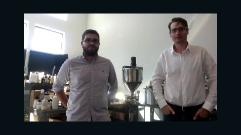 Pembient CEO Matthew Markus (left|) is targeting up to 25% of the $500 million black market, and if successful will move on to elephant tusks, tiger bone, and pangolin scales.