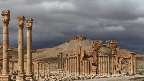 The ancient oasis city of Palmyra, Syria, in March 2014.