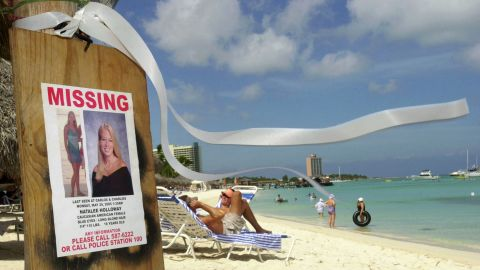 Natalee Holloway disappeared while on a high school graduation trip to Aruba. She was last seen alive on May 30, 2005.