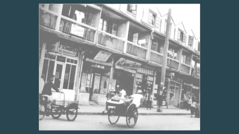 """Known as """"Little Vienna"""" for its cafes, shops and nightclubs, this street was the commercial center of the Jewish ghetto, which was often described as the """"Hongkou"""" or """"Hongkew"""" ghetto."""