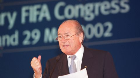 Blatter faced a criminal investigation after winning the 2002 FIFA presidential election, being accused of financial mismanagement by 11 former members of the ruling body's executive committee, including his 1998 election rival Lennart Johansson. However, prosecutors dropped the case due to a lack of evidence.