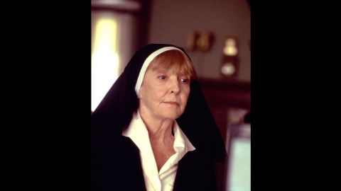 """Meara plays Sister Theresa in 2002's """"Like Mike,"""" where an orphan makes it to the NBA after finding a pair of shoes with the initials """"M.J."""" on them."""