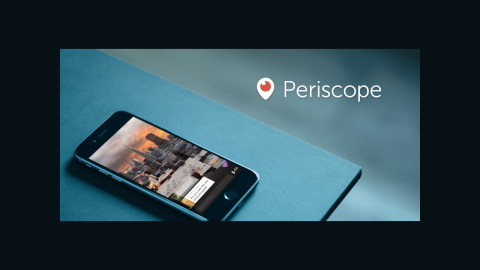 Periscope is optimized for vertical video.