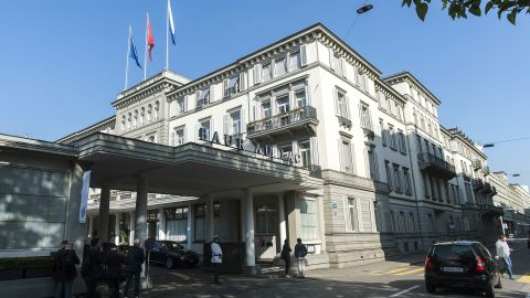 A number of FIFA officials were arrested Wednesday at the five-star hotel Baur au Lac in an early-morning raid. Prosecutors have issued arrest warrants for 14 people in the corruption probe and the  U.S. investigation targets alleged wrongdoing over 24 years. The charges range from money laundering to fraud and racketeering.