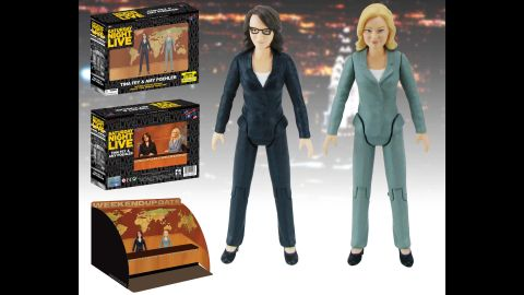 Tina Fey and Amy Poehler action figures
