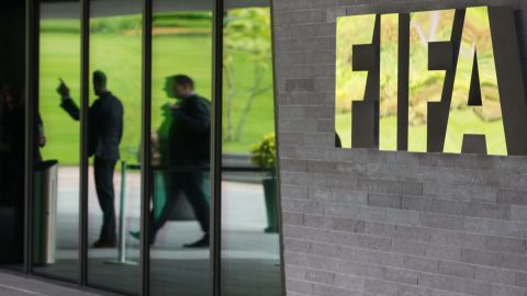 """FIFA lodges a<a href=""""http://www.fifa.com/governance/news/y=2014/m=11/news=awarding-of-the-2018-and-2022-world-cup-hosting-rights-fifa-lodges-cri-2476219.html"""" target=""""_blank"""" target=""""_blank""""> criminal complaint</a> with the Swiss judiciary <a href=""""http://cnn.com/2014/11/18/sport/football/fifa-criminal-complaint-world-cup/"""">relating to the """"international transfers of assets</a> with connections to Switzerland, which merit examination by the criminal prosecution authorities."""""""