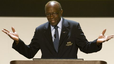 """<a href=""""http://cnn.com/2011/SPORT/football/05/25/hammam.warner.fifa.blatter/"""">FIFA announces it will investigate </a>Warner (pictured), who ran the CONCACAF federation covering Central and North America, and Mohamed Bin Hammam, head of the Asian Football Confederation, over bribery allegations. It follows a report by fellow Executive Committee member Chuck Blazer alleging that they paid $40,000 worth of bribes to secure the support of members of the Caribbean Football Union.  They deny the claims, with Warner promising a """"tsunami"""" of revelations to clear his name. Bin Hammam claims the accusations are part of a plan to force him to withdraw as a candidate for FIFA's presidency. He is incumbent Blatter's only opponent in FIFA's presidential election due to be held June 1."""