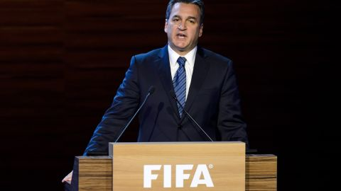 """<a href=""""http://cnn.com/2014/12/17/sport/football/michael-garcia-resigns-fifa-football/"""">Garcia resigns</a> as chairman of the investigatory body of the Ethics Committee, following FIFA's decision to throw out his appeal after he complained about the way his report into the World Cup bidding process had been summarized by Eckert."""