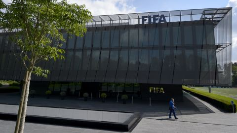 """At the request of U.S. officials, <a href=""""http://cnn.com/2015/05/27/football/fifa-corruption-charges-justice-department/"""">Swiss authorities raid FIFA's headquarters in Zurich</a> and arrest seven people. Meantime, the U.S. Department of Justice announces the unsealing of a 47-count indictment detailing charges against 14 people for racketeering, wire fraud and money laundering conspiracy. They include FIFA officials accused of taking bribes totaling more than $150 million and in return provided """"lucrative media and marketing rights"""" to soccer tournaments as kickbacks over the past 24 years. Separately Switzerland announces its own investigation into the awarding of the World Cup bids to Russia in 2018 and Qatar in 2022."""