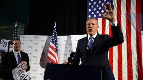 Former New York Gov. George Pataki announces his candidacy for the 2016 Republican presidential nomination May 28 in New Hampshire.