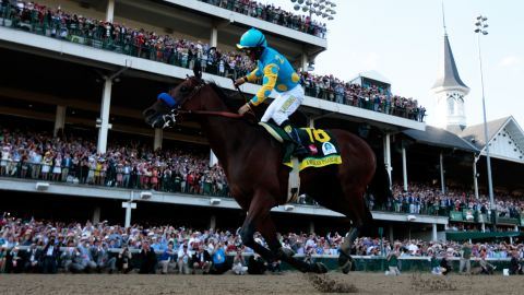 It marked a second straight Derby win for Espinoza, who was victorious on board California Chrome a year ago.