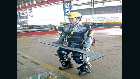 Boost your lifting power with an exoskeleton.