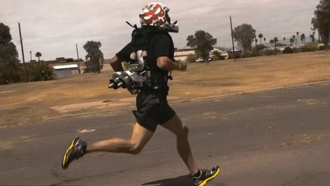 Jet propulsion will improve your personal best on the running track.