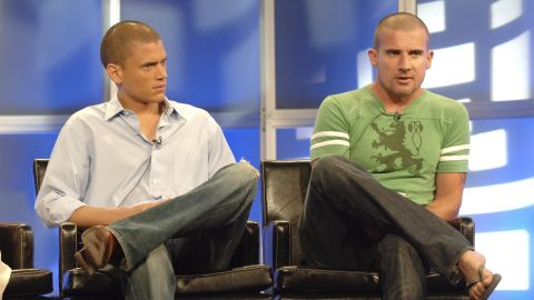 """The action/conspiracy-obsessed series """"Prison Break"""" is the latest series <a href=""""http://deadline.com/2015/06/prison-break-limited-series-concept-paul-scheuring-wentworth-miller-fox-1201436784/"""" target=""""_blank"""" target=""""_blank"""">getting a revival </a>at Fox, reuniting Wentworth Miller, left, and Dominic Purcell."""