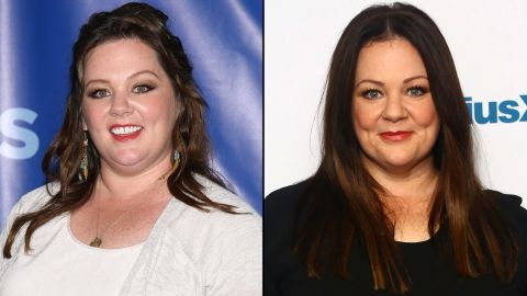 """Melissa McCarthy has been shedding weight, and she told Gayle King on """"CBS This Morning"""" that she simply stopped stressing over it. """"I feel amazing ... and I finally said, 'Oh, for God's sake, stop worrying about it,' and it may be the best thing I've ever done,"""" <a href=""""http://www.eonline.com/news/662747/melissa-mccarthy-reveals-weight-loss-secret-after-showing-slimmer-figure-and-it-sounds-pretty-easy"""" target=""""_blank"""" target=""""_blank"""">she said.</a>"""