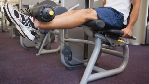 <strong>Seated leg extension:</strong> It places undue stress across your knee joint, affecting the delicate cartilage under the patella.