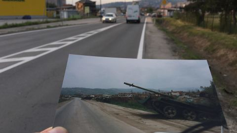 Those who made the journey passed tanks along the way, and risked death or serious injury from snipers' bullets -- ABC producer David Kaplan was shot dead on his way from the airport to the city. In one 14-day period in the summer of 1992, 12 journalists reporting on the war were killed or wounded.