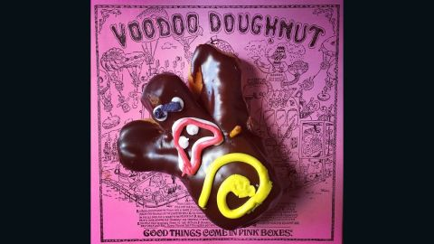 """Joey Cabrera snapped this pic of the original Voodoo Doughnuts from the iconic store in Portland, Oregon. He appreciates that doughnuts can be """"plain or dressed up in a variety of flavors."""""""