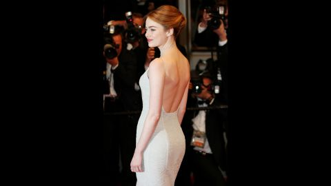 """In 2014, actress <a href=""""http://www.usatoday.com/story/life/people/2014/05/01/emma-stone-body-image-spider-man/8541525/"""" target=""""_blank"""" target=""""_blank"""">Emma Stone told USA Today</a>, """"I've seen a lot of comments that say, 'Eat a sandwich' or 'She looks sick.' I've been looking at myself in the mirror being mean to myself. I'm not sick. I eat sandwiches."""""""