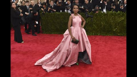 """Cracks about Kerry Washington being too thin have hit the """"Scandal"""" star, as <a href=""""http://www.people.com/people/article/0,,20752663,00.html"""" target=""""_blank"""" target=""""_blank"""">People reported that she told Essence in 2007 </a>that she has struggled with eating disorders. """"I used food as a way to cope. There was a lot of guilt and a lot of shame."""""""