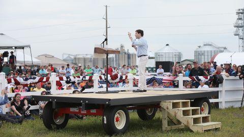 U.S. Sen. Marco Rubio of Florida speaks.
