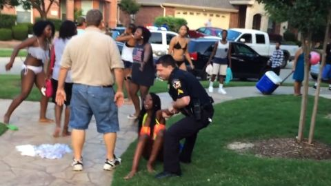 """Officer Eric Casebolt resigned on June 9, days after a YouTube video showing his response to reports of fighting at a <a href=""""http://www.cnn.com/2015/06/08/us/mckinney-texas-pool-video/"""" target=""""_blank"""">McKinney, Texas, pool party </a>sparked swift allegations of racism. Critics decried the white officer for cursing at several black teenagers, unholstering and waving his gun at boys and throwing a 14-year-old girl to the ground, his knees pressed down on her back. Casebolt's attorney said race had nothing to do with how the officer responded."""