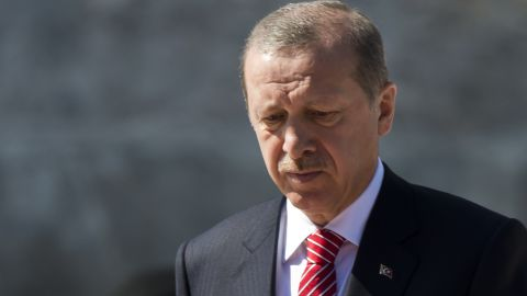 Turkish President Recep Tayyip Erogan has called for new elections.