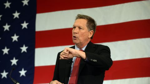 """Ohio Gov. John Kasich joined the Republican field July 21 as he formally announced his White House bid.<br /><br />""""I am here to ask you for your prayers, for your support ... because I have decided to run for president of the United States,"""" Kasich told his kickoff rally at the Ohio State University."""