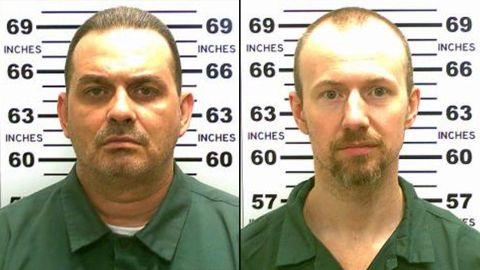 """Richard Matt, left, and David Sweat were discovered missing on Saturday, June 6, at the 5:30 a.m. """"standing count"""" of inmates at the Clinton Correctional Facility in Dannemora, New York."""