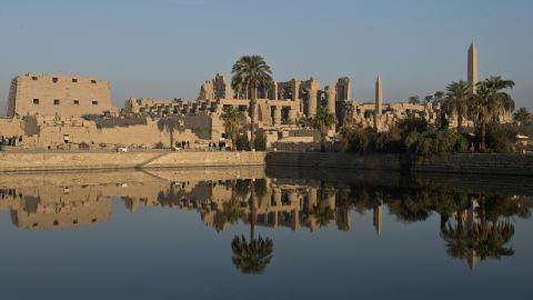 The Temple of Karnak, Luxor, is a site of ancient royal burials and religious pilgrimages.