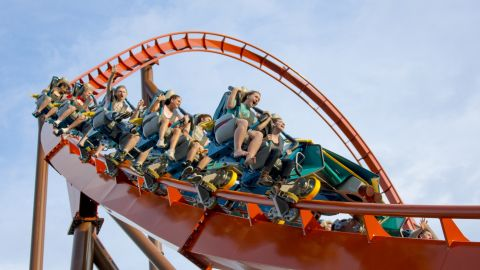 Researchers rode the Big Thunder Mountain Railroad ride at Disney's Magic Kingdom.
