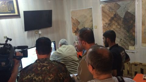 Abu Mahdi Al-Muhandis explains to Ben Wedeman the gains the PMU has made and their plans to defeat ISIS.