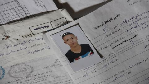Ibrahim, 17, has been missing since boarding a smuggler boat to Italy. Italian authorities believe his boat sank with hundreds on board.