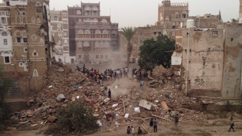 """Yemen's capital city of Sanaa has seen several <a href=""""http://www.cnn.com/2015/03/20/middleeast/yemen-violence/"""">suicide bombings</a> for which ISIS claimed responsibility, and air strikes by the Saudi-led coalition -- although it is unclear who is responsible to the latest damage. These have affected both the old fortified city -- inscribed on UNESCO's <a href=""""http://whc.unesco.org/en/list/385"""" target=""""_blank"""" target=""""_blank"""">World Heritage List</a> since 1986 -- and the archaeological site of the pre-Islamic walled city of Baraqish, causing """"severe damage,"""" <a href=""""http://news.yahoo.com/unesco-condemns-severe-bombing-damage-sanaa-old-town-163427150.html"""" target=""""_blank"""" target=""""_blank"""">according to UNESCO</a> itself."""