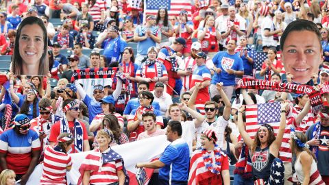 """U.S. fans sing the national anthem before the Australia match. <a href=""""http://www.cnn.com/2015/06/06/sport/gallery/women-worlds-cup-2015/index.html"""" target=""""_blank"""">See more photos from the Women's World Cup</a>"""