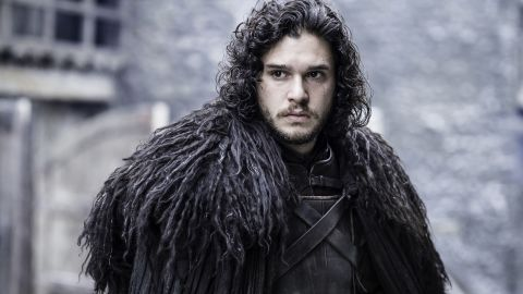 """It's """"Game of Thrones"""" fans' favorite guessing game: Is Jon Snow dead? Or alive? Either way, you can pay tribute to the brooding Night's Watch commander by growing a beard and donning a shaggy brown wig, dressing in dark winter clothes and carrying a sword. Use red duct tape to make a big red """"X"""" over yourself and you're set."""