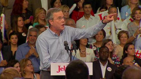 Jeb Bush Immigration protesters _00002801.jpg