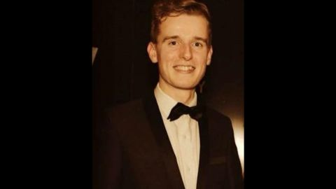 Lorcan Miller, one of the five Irish students killed in the collapse.