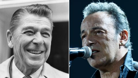 """Bruce Springsteen asked Ronald Reagan's campaign to stop using his 1980s hit """"Born in the U.S.A."""""""