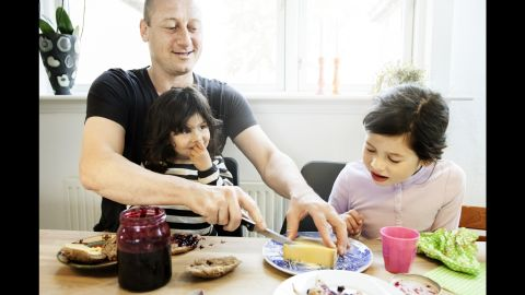 Social stigmas about stay-at-home fathers are diminishing as such dads become more common.