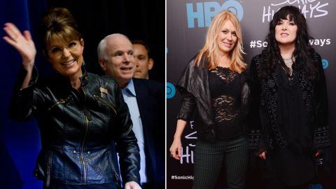 """The band Heart asked John McCain's presidential campaign in 2008 to stop using their song """"Barracuda."""" The campaign was using the song in honor of vice-presidential candidate Sarah Palin, whose nickname at school was """"Sarah Barracuda."""" Palin's """"views and values in no way represent us as American women,"""" Ann and Nancy Wilson told Entertainment Weekly."""