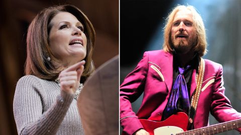 """Tom Petty objected to Michele Bachmann's campaign playing his 1977 hit """"American Girl"""" after it was played during the kickoff event for the Minnesota representative's presidential bid."""