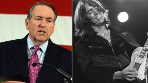 """Boston complained about Republican presidential hopeful Mike Huckabee playing their 1970s hit """"More than a Feeling"""" without the band's permission in 2008."""