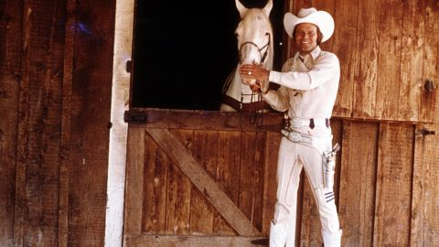 """Campbell's iconic album """"Rhinestone Cowboy"""" was released in 1975."""