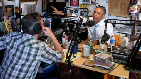 """During an interview released on June 22, Obama<a href=""""http://www.cnn.com/2015/06/22/politics/barack-obama-n-word-race-relations-marc-maron-interview/""""> dropped the N-word</a>. Obama used the  word during an interview for the podcast """"WTF with Marc Maron"""" to make the point that racism is still a problem in our society."""