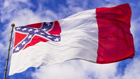 The third National Flag of the Confederacy was the final flag of the Confederate government and was adopted on March 4, 1865. The flag was not used long before the Confederacy surrendered.